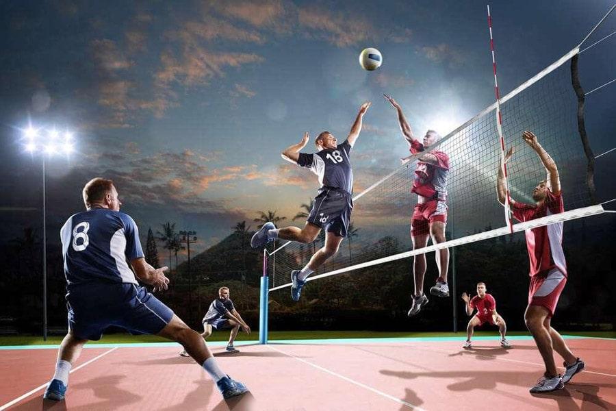 آموزش شرط بندی بازی والیبال