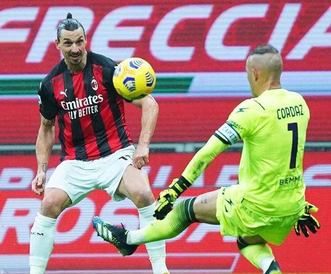 فرم پیش بینی بازی آث میلان و اسپتزیا سری آ ایتالیا
