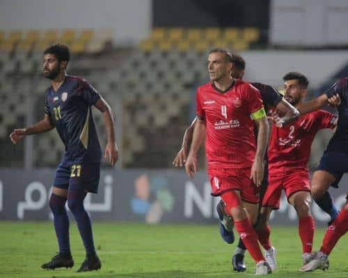 بازی پرسپولیس و الوحده امارات در لیگ قهرمانان آسیا 2021
